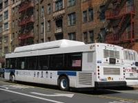 Нью-Йорк. New Flyer C40LF R-28810