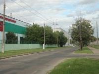 Минск. Служебная троллейбусная линия из 3 троллейбусного парка в сторону проспекта Жукова