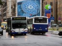 Рига. Mercedes-Benz O530 Citaro EL-2547, Mercedes-Benz O345 DC-9617