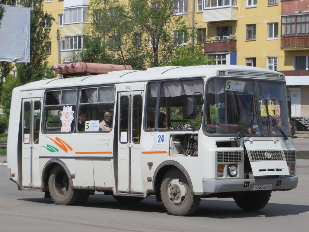 Шадринск. ПАЗ-32054 о262кр