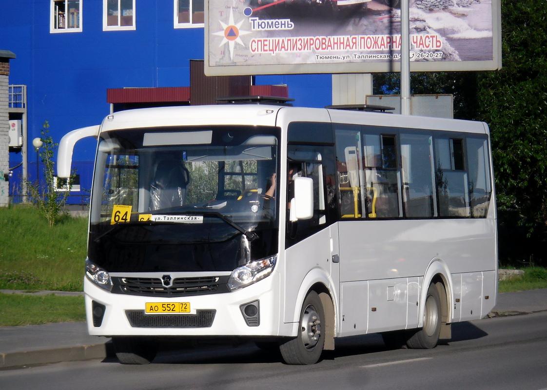 Тюмень. ПАЗ-320405-04 ао552