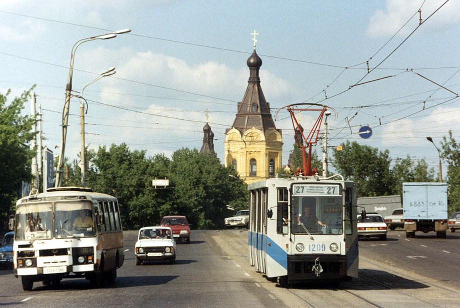 Нижний Новгород. 71-608К (КТМ-8) №1209