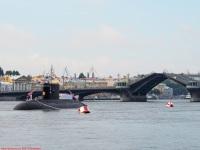 Санкт-Петербург. Подводная лодка проекта 877, шифр Палтус № Б-806 Дмитров