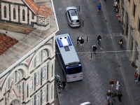 Флоренция. BredaMenarinibus Vivacity+ C CNG Exobus EZ 943HX