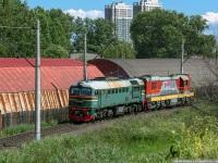Санкт-Петербург. М62-1677, ЧМЭ3т-7298