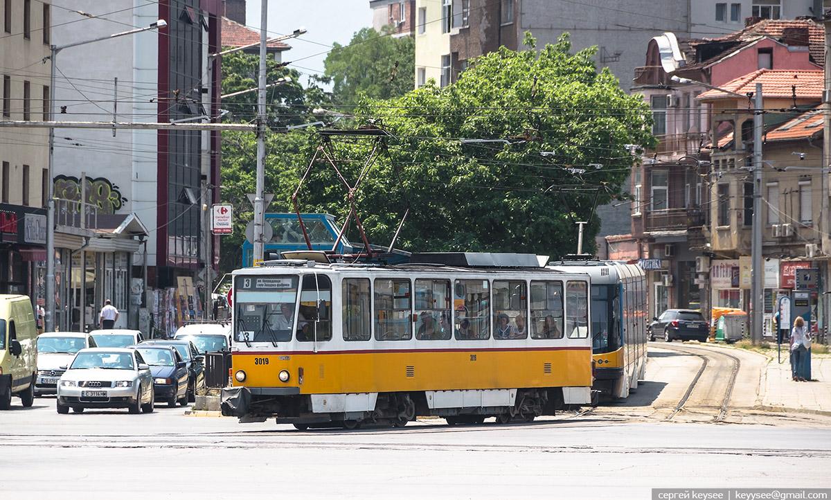 София. Tatra T6A2B №3019