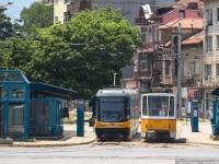 София. Tatra T6A2B №3022, PESA 122NaSF №2302