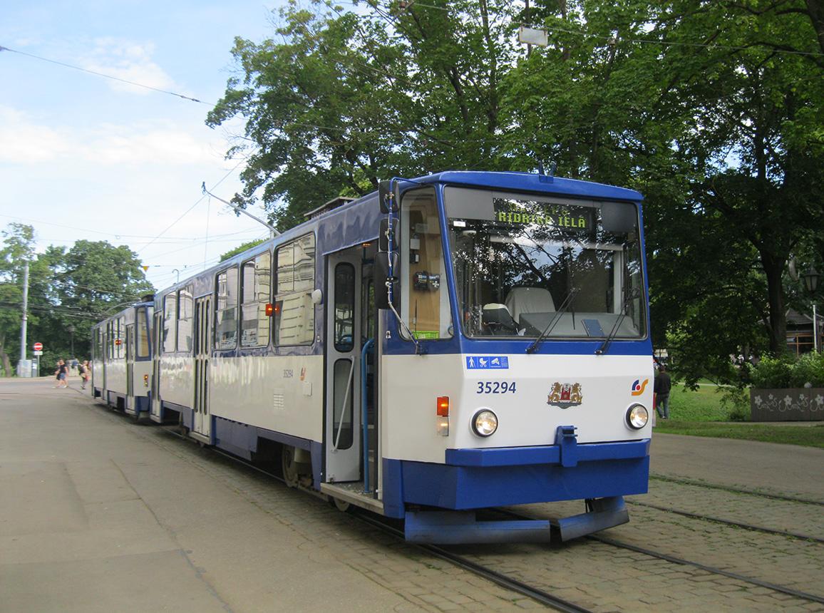 Рига. Tatra T6B5 (Tatra T3M) №35294