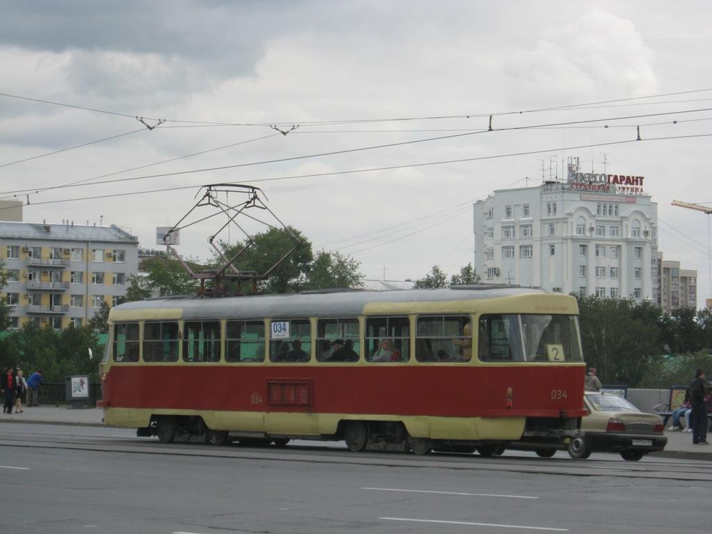 Екатеринбург. Tatra T3 (двухдверная) №034