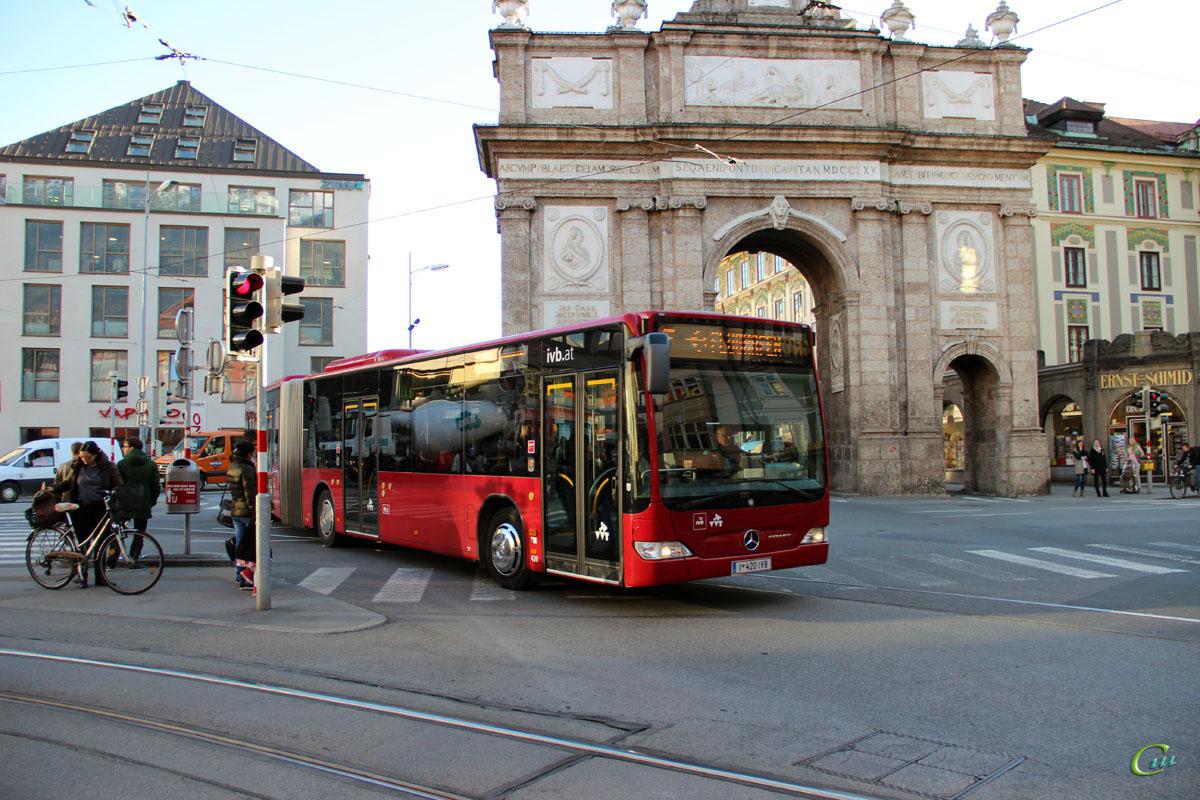 Инсбрук. Mercedes-Benz O530 Citaro G I 420 IVB
