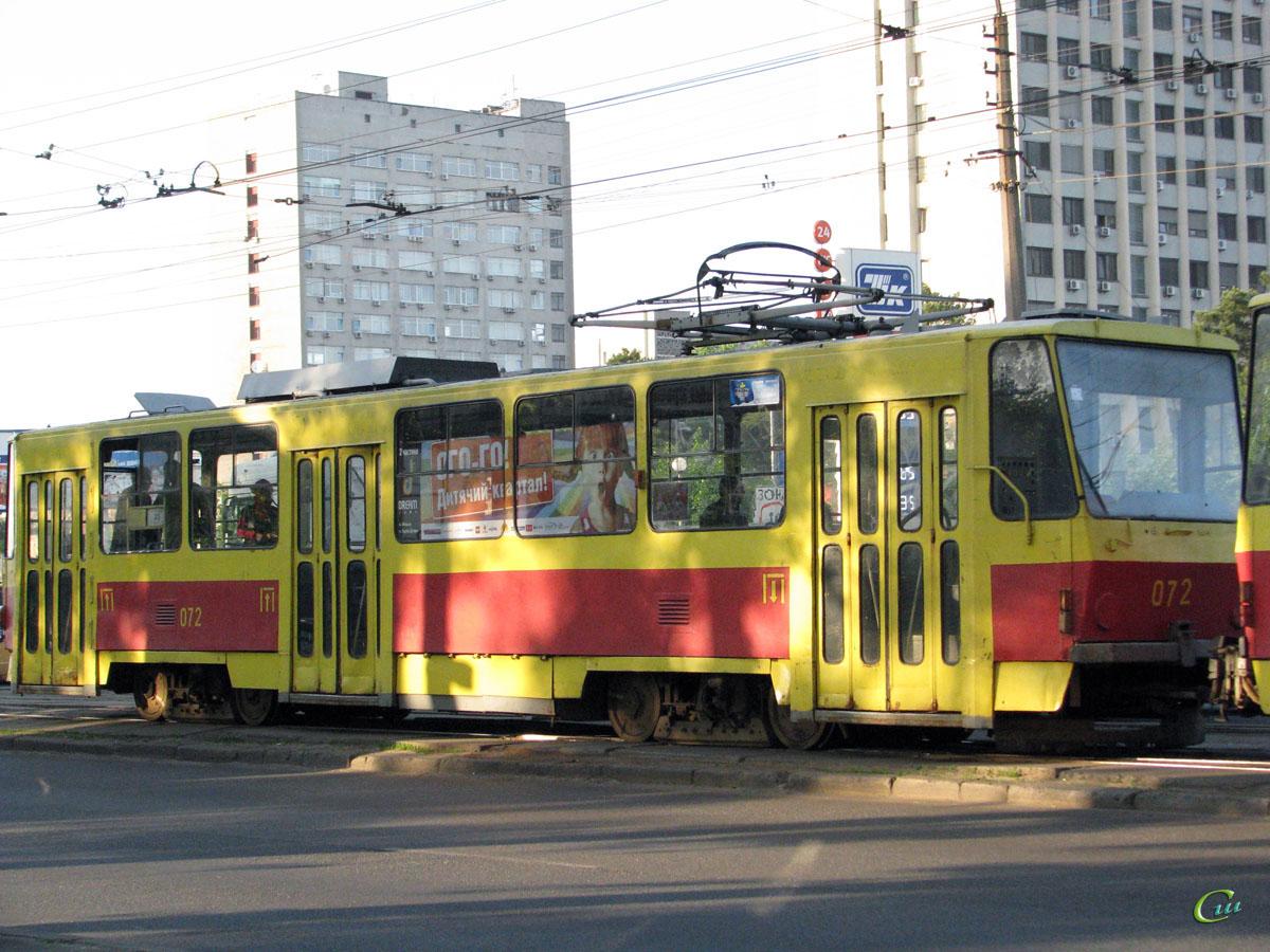 Киев. Tatra T6B5 (Tatra T3M) №072