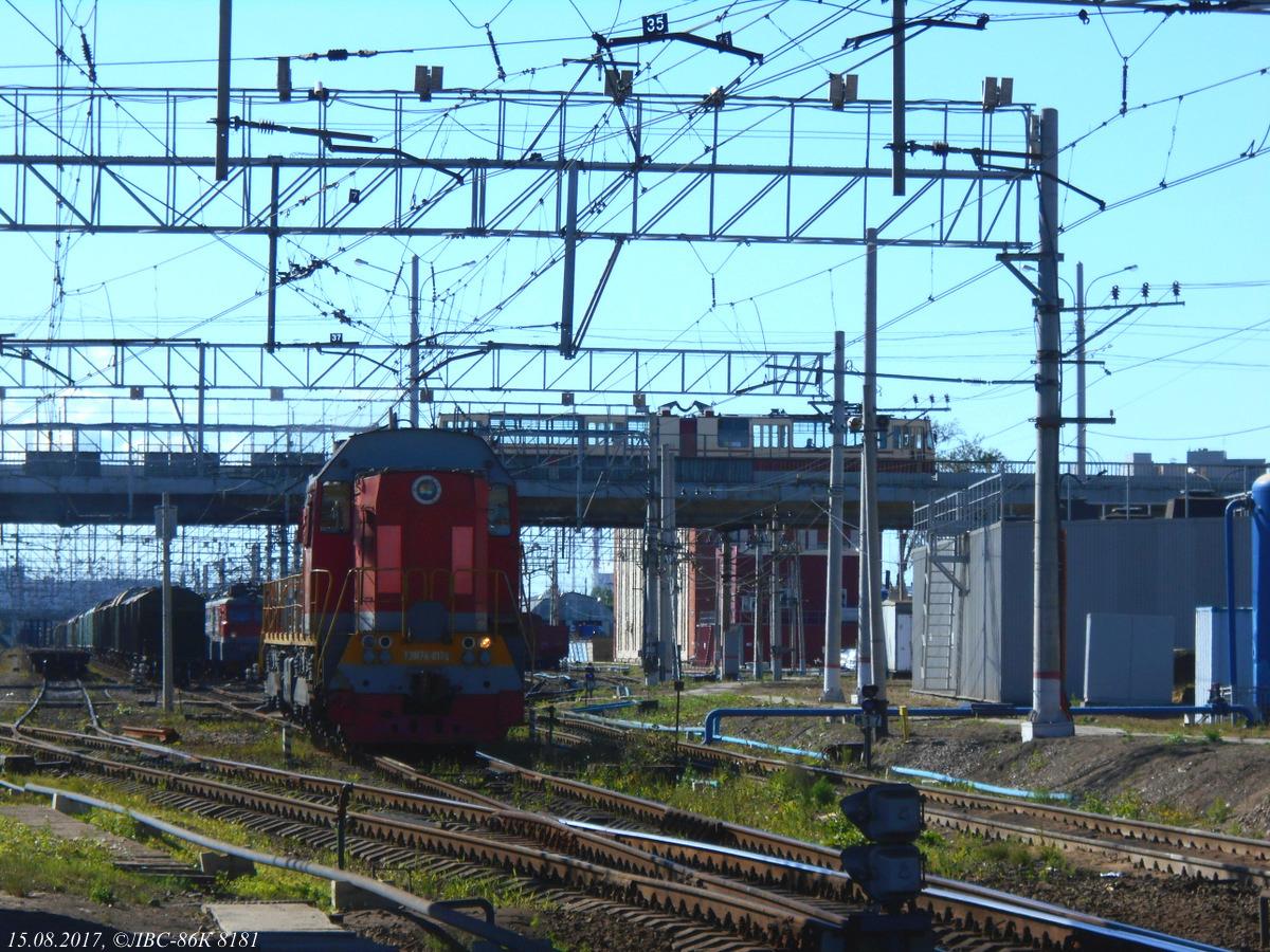 Санкт-Петербург. ТЭМ7А-0178