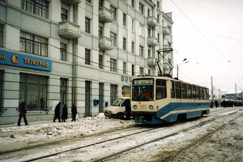 Нижний Новгород. 71-608КМ (КТМ-8М) №1212