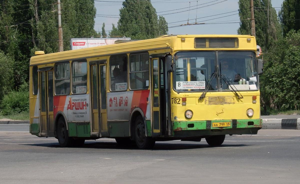 Липецк. ЛиАЗ-5256.40 аа799