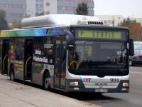 Вильнюс. MAN A21 Lion's City NL273 CNG GND 537