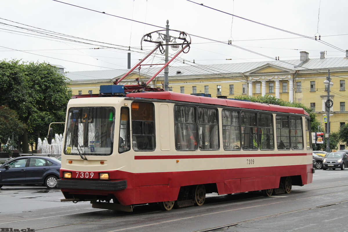 Санкт-Петербург. 71-134А (ЛМ-99АВ) №7309