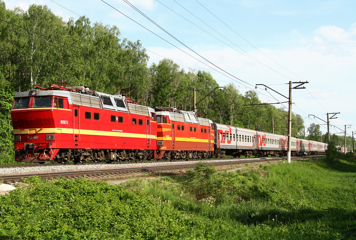 Серпухов. ЧС2т-999, ЧС2т-967