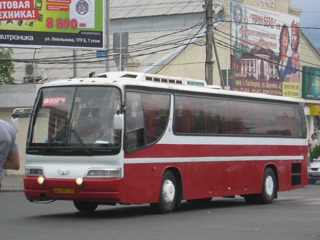 Анапа. Daewoo BH117H ав091
