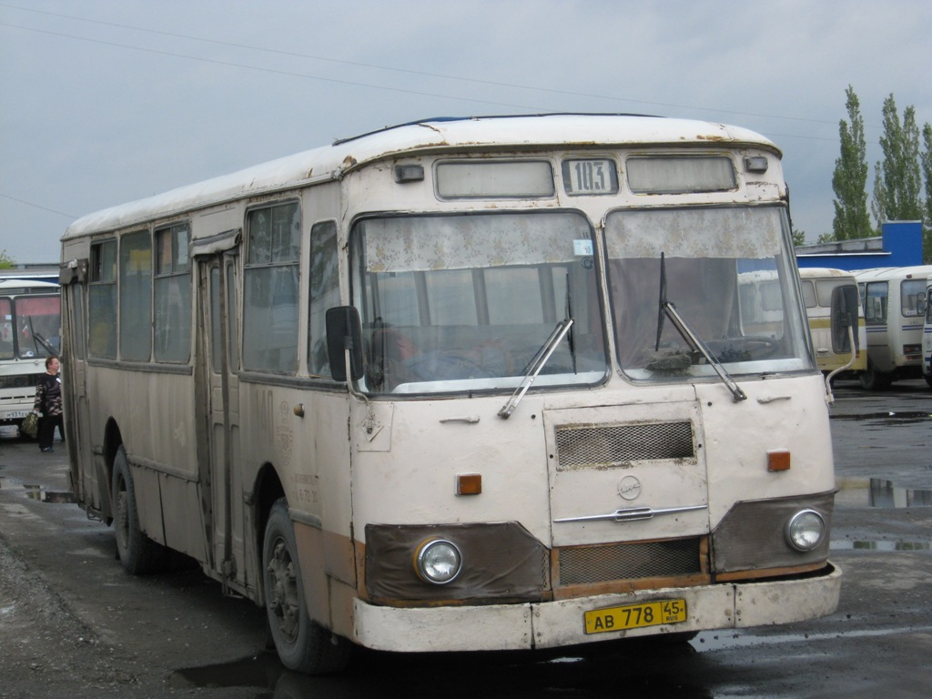Шадринск. ЛиАЗ-677М ав778