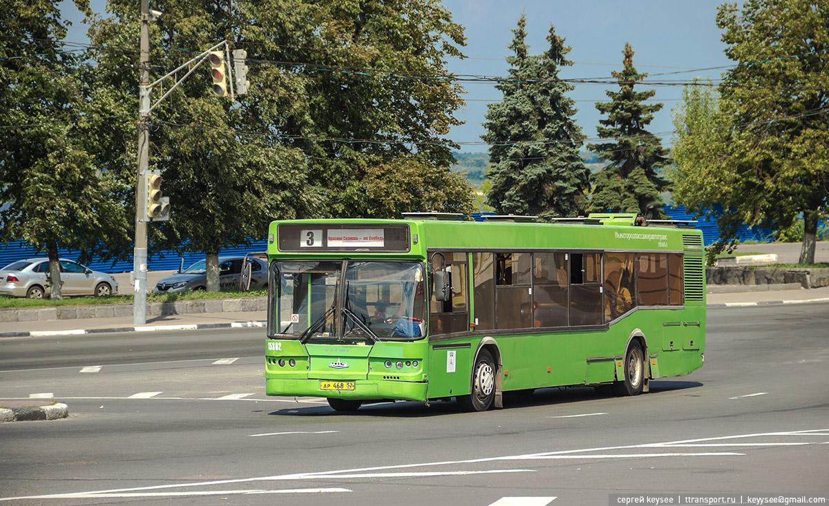 Нижний Новгород. Самотлор-НН-5295 (МАЗ-103) ар468