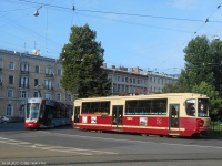 Санкт-Петербург. ЛМ-68М2 №3601, Alstom Citadis 301 CIS (71-801) №8901
