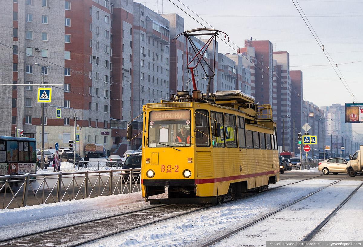 Санкт-Петербург. ТС-34Д №ВД-2
