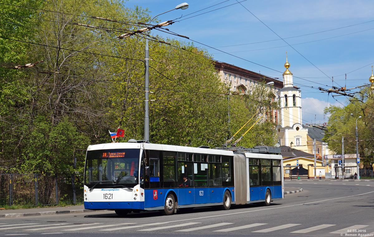 Москва. ТролЗа-6206 №1621