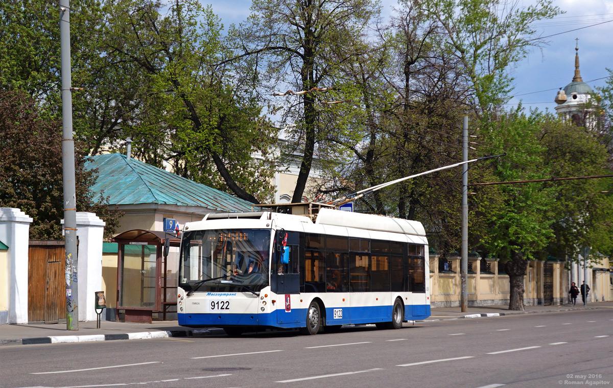 Москва. ТролЗа-5265.00 №9122