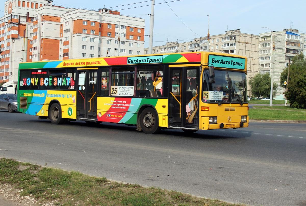 Владимир. Mercedes O405N вс388