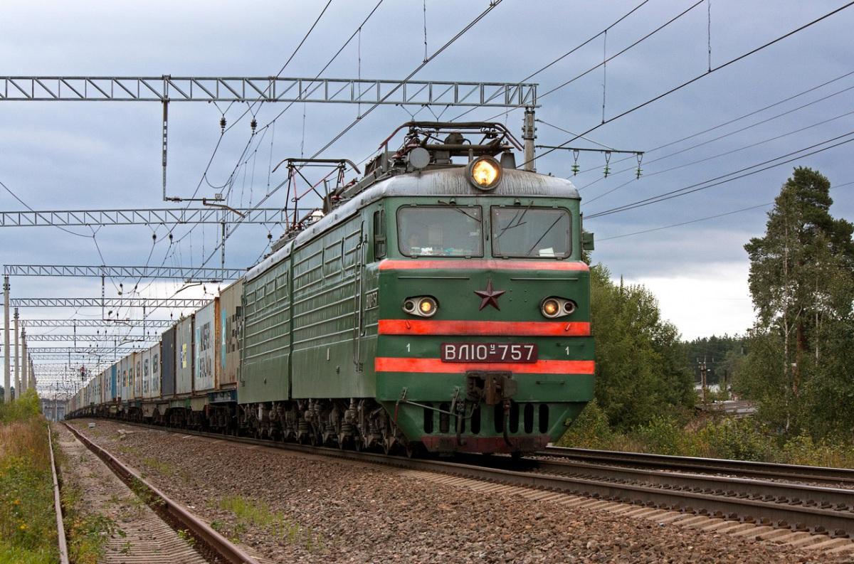 Санкт-Петербург. ВЛ10у-757