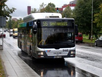 Вильнюс. MAN A21 Lion's City NL273 CNG GND 520