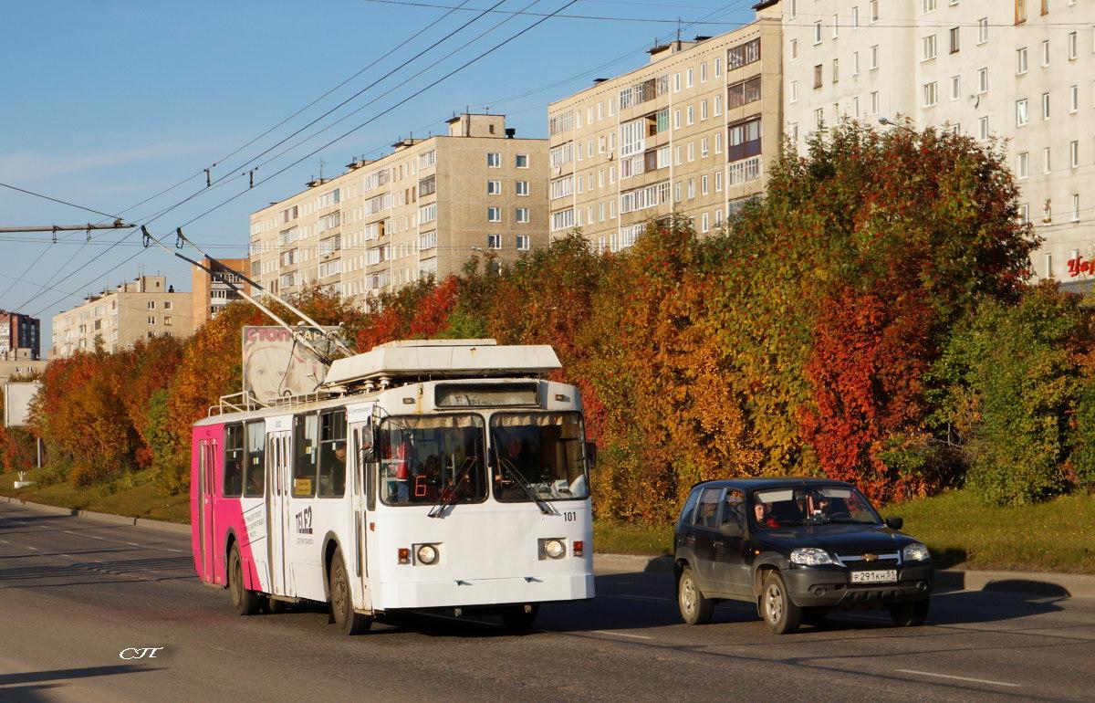 Мурманск. ЗиУ-682 КР Иваново №101