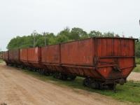 Великий Новгород. Торфовозные вагоны