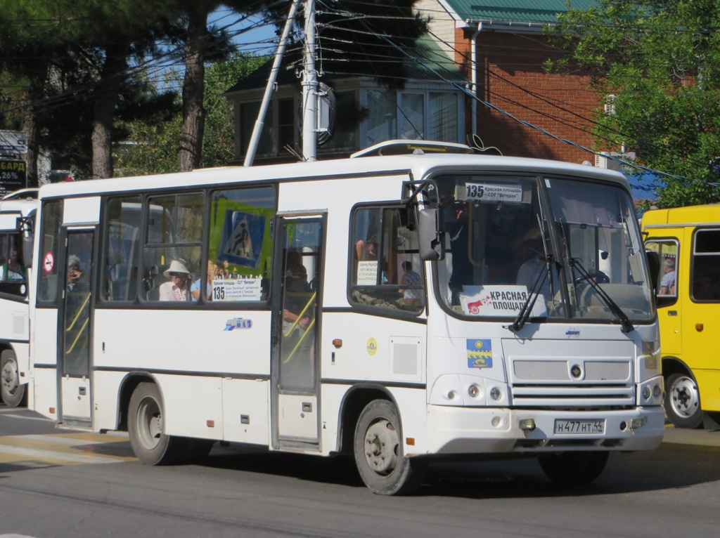 Анапа. ПАЗ-320402-03 н477нт