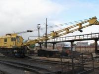Рязань. Железнодорожный кран КЖДЭ16