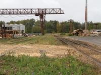 Рязань. Путь широкой (слева) и узкой (справа) колеи
