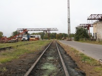 Рязань. Узкоколейный железнодорожный путь