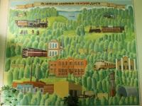 Рязань. Панно в здании управления Рязанского шпалопропиточного завода