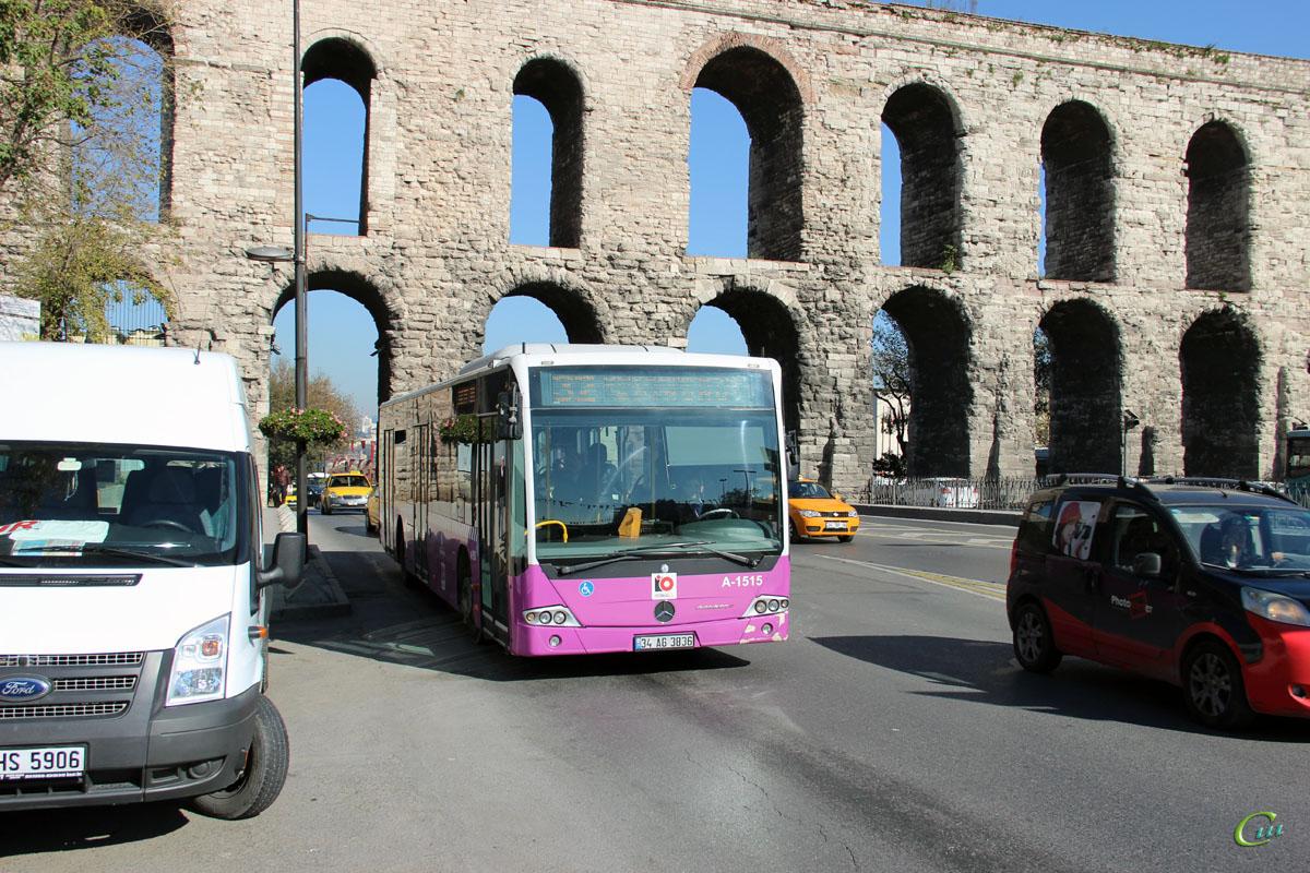Стамбул. Mercedes O345 Conecto LF 34 AG 3836