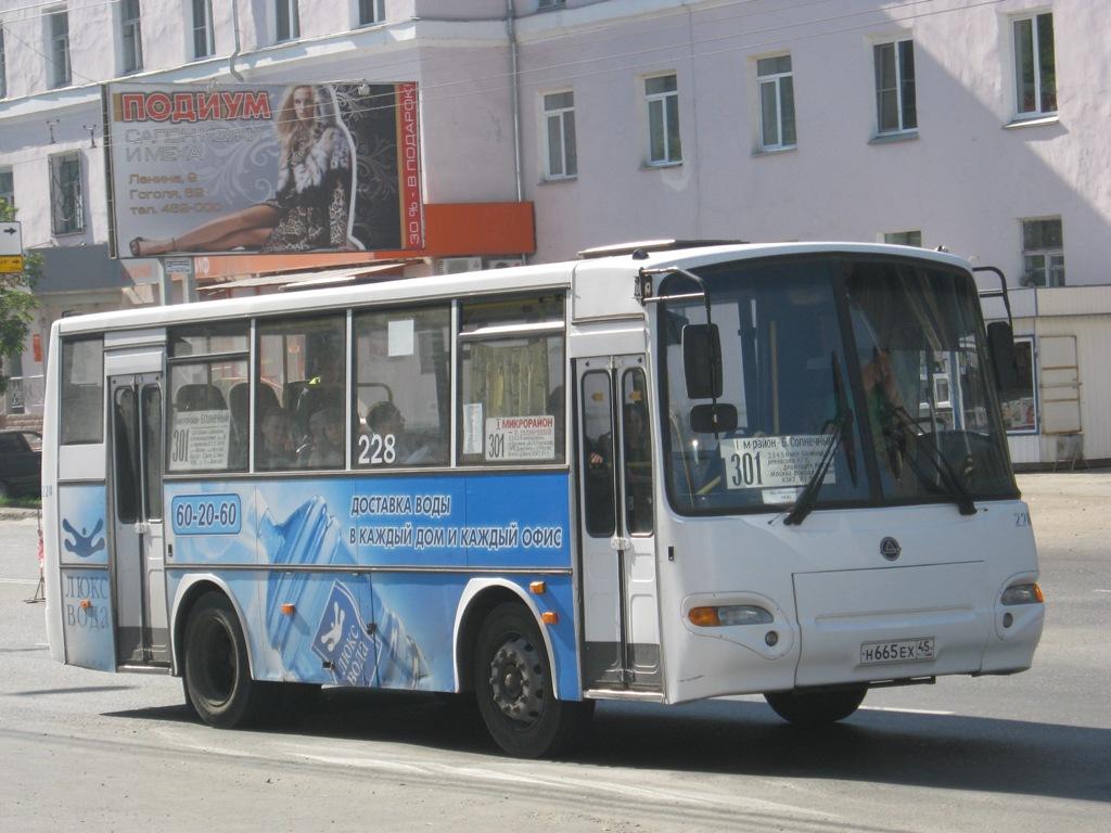 Курган. ПАЗ-4230-03 н665ех