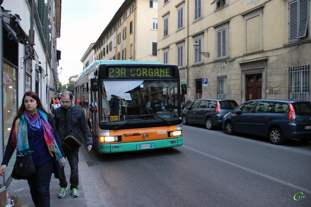 Флоренция. Irisbus CityClass CNG CN 863XV