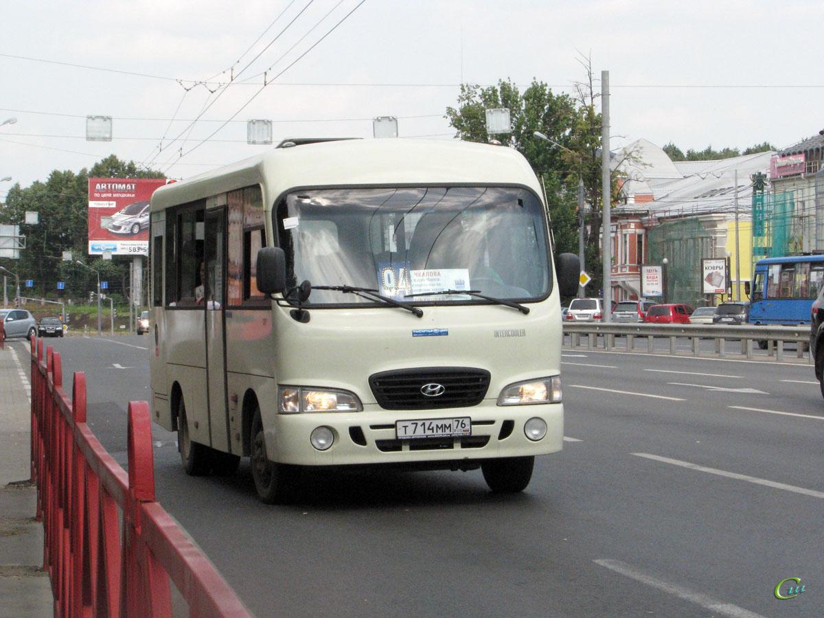 Ярославль. Hyundai County SWB т714мм