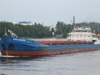 Санкт-Петербург. Сухогрузный теплоход Волго-Дон 225