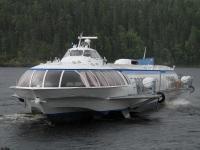 Петрозаводск. Судно на подводных крыльях Патриарх Алексий II Тип судна: Метеор