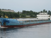 Санкт-Петербург. Сухогрузный теплоход Волго-Дон 5056 Проект судна: 1565