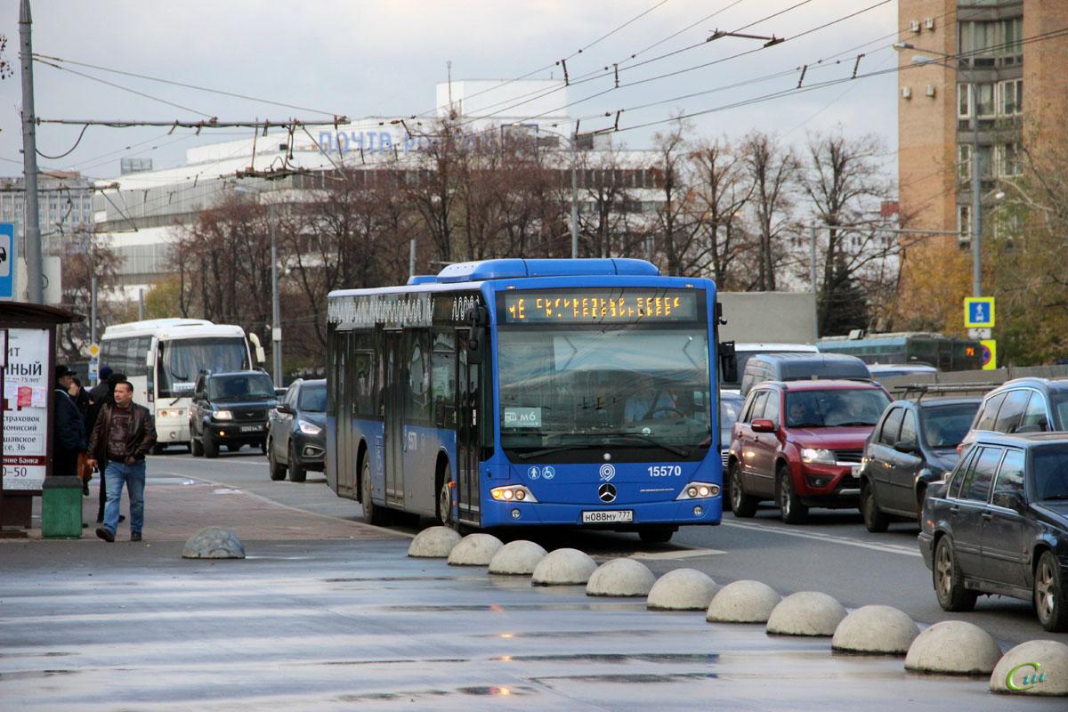 Москва. Mercedes-Benz O345 Conecto LF н088му
