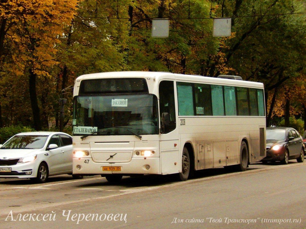 Череповец. Volvo 8500 ае939