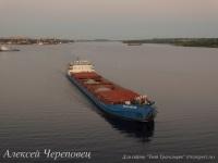 Сухогрузный теплоход Волго-Дон 225 дедвейтом 5000 тонн и мощностью 1324 кВт