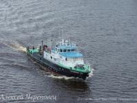 Обстановочный теплоход Путейский-404 мощностью 450 л