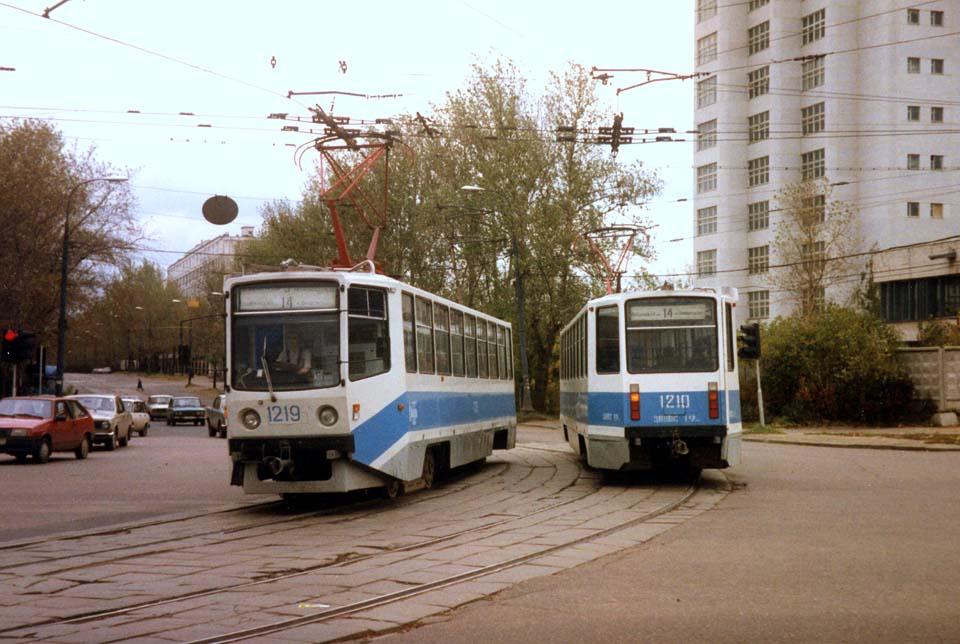 Москва. 71-608КМ (КТМ-8М) №1219, 71-608КМ (КТМ-8М) №1210